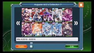 Valkyrie Crusade My Collection! (250 GURs & 40 LRs GLRs)