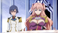 Kasumi & Charlotte spectate