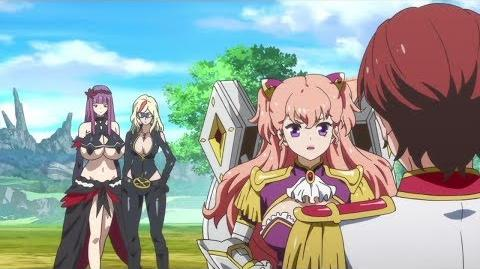 Valkyrie Drive Mermaid Lady J and Rein