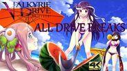 Valkyrie Drive Bhikkhuni - All Drive Breaks - 4k60