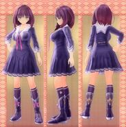 Koharu Tsukikage Outfit (Momo Kuzuryū)