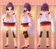 Mana Inagawa Outfit (Momo Kuzuryu)