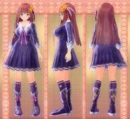 Koharu Tsukikage Outfit (Mana Inagawa)