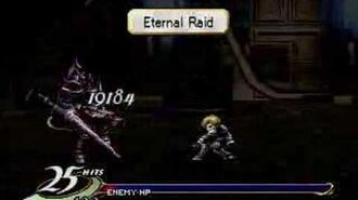 Valkyrie Profile finishing move Eternal Raid (Jayle)
