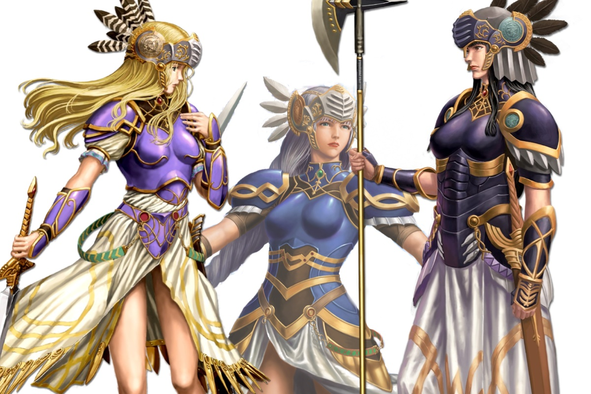 valkyrie characters valkyrie profile wiki fandom