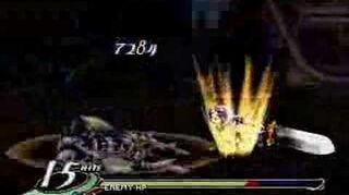 Valkyrie Profile finishing move Flashing Blade (Kashell)