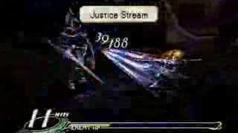 Valkyrie Profile finishing move Justice Stream (Lawfer)