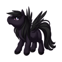 Shadow Pegasus Baby