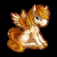 Candy Glass Alicorn Baby