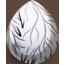 Delicate Leaf Egg