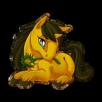 Sunflower Unicorn Baby