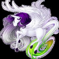White Anniversary 2015 Pegasus V2 Hooves