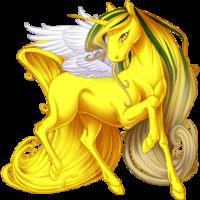 Honey Ethercorn Winged