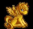 Gold Alicorn