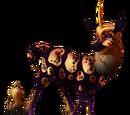 All Hallows' Eve Heraldic Unicorn