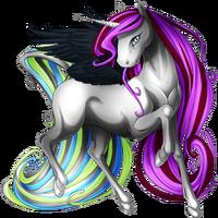 Metallic Ethercorn Winged