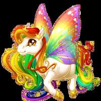 Celestial Rainbow Spring Fairy