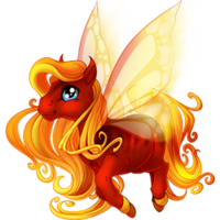 Fire Spring Fairy