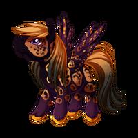 All Hallows' Eve Pegasus Baby