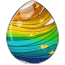 Rainbow Pegasus Egg