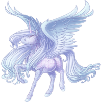 Ice Spirit Alicorn