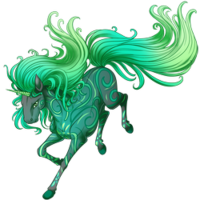 Emerald Wind Unicorn