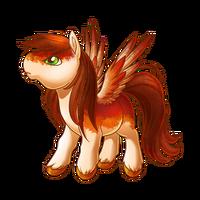 Autumn Blaze Pegasus Baby