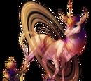 Saturn Heraldic Unicorn