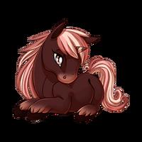 Strawberry Choco Unicorn Baby