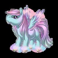 Pastel Clouds Pegasus Baby