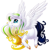 White Anniversary 2016 Spring Fairy Colored Hooves