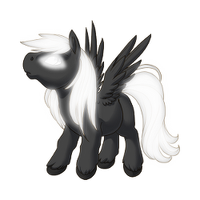 Dark Ghost Pegasus Baby