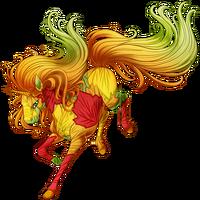 Forest Colors Unicorn
