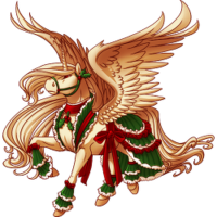 Merry Caroler Alicorn