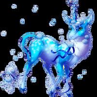Roses Are Blue Heraldic Unicorn