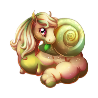 Snail Spring Fairy Baby