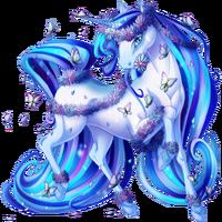Blue Butterfly Unicorn V2