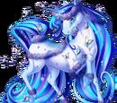 Blue Butterfly Unicorn