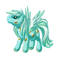 Faint Buzzing Pegasus Baby