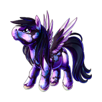 Opalescent Pegasus Baby