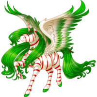 Peppermint Alicorn
