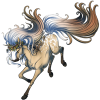 Autumn Moon Unicorn