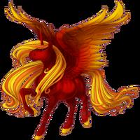 Fire Alicorn