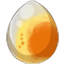 Red Cheek Cockatiel Alicorn Egg