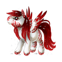 Peppermint Winter Pegasus Baby