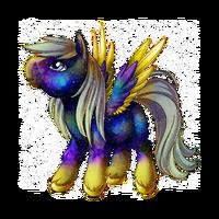 Galaxy Dust Pegasus Baby