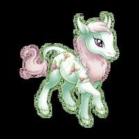 Rose Bearer Heraldic Unicorn Baby