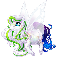 White Anniversary 2016 Spring Fairy Striped