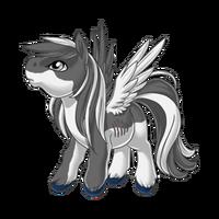 Great White Pegasus Baby