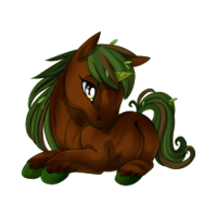 Forest Guardian Unicorn Baby